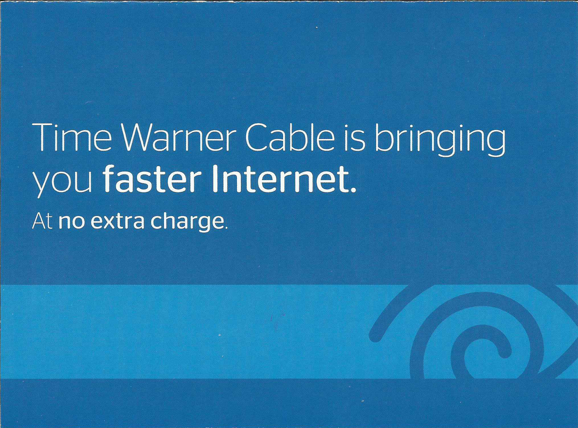 Time Warner Offer Page 1